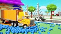 Camion transformers voitures mcqueen garage - Parking Vehilce pour les Enfants