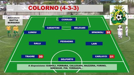 Colorno - Rolo 3-0, highlights e interviste