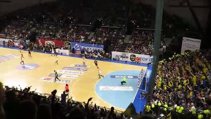 Handball - Tritta enchaine les roucoulettes - Chambéry 33 29 Montpellier