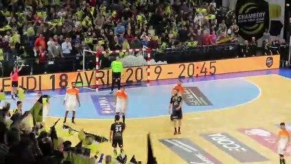 Hand - Fin de match Chambéry 33 29 Montpellier - 7/04/2019
