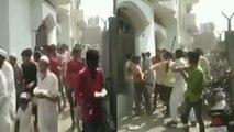 Muzaffarnagar: बिरयानी के लिए भिड़े Congress Supporters, जमकर चले लाठी डंडे | वनइंडिया हिंदी