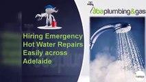 Hiring Emergency Hot Water Repairs Easily across Adelaide
