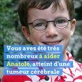 Anatole, atteint d'une tumeur cérébrale, a commencé son traitement aux Etats-Unis