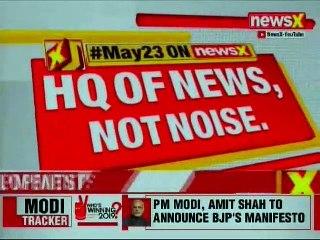 BJP Releases Manifesto, Sankalp Patra: Amit Shah Speech at BJP Headquater, Lok Sabha Elections 2019