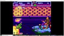 tortues ninja surfer dans les égouts