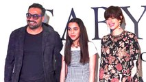 Anurag Kashyap Poses With Ex-Wife Kalki Koechlin And Daughter Aaliyah Kashyap