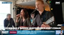 Adrien Quatennens rend hommage à Kurt Cobain - ZAPPING ACTU DU 08/04/2019
