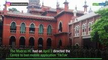 SC refuses urgent listing of plea challenging Madras High Court order banning downloading of TikTok app
