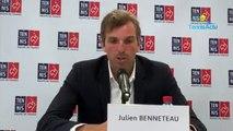 Fed Cup 2019 - Julien Benneteau n'est pas inquiet pour Alizé Cornet et Kristina Mladenovic forfaits à Lugano
