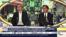 """Luc Ferry et Nicolas Bouzou publient """"Sagesse et folie du monde qui vient"""" - 08/04"""