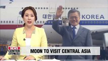 Pres. Moon to visit three Central Asian nations from April 16th til 23rd