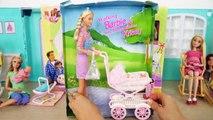 La marche Barbie Et Poussette de Bébé, de Famille Heureuse Pépinière ensemble Poussette de bébé Kinderwagen Bayi bilik