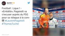 Laurent Paganelli s'excuse auprès de Thomas Tuchel