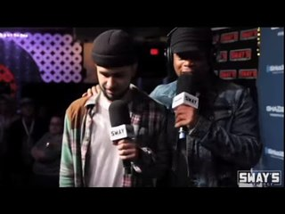 Radamiz Freestyles On Sway in the Morning During SXSW 2016!