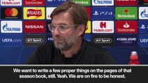 (Subtitled) 'We are on fire!' Klopp