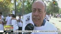 Chilenos visibilizan crímenes de la dictadura en Maratón de Santiago