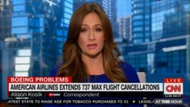 Alison Kosik reports on American Airlines extends 737 Max flight cancellations. #News #AmericanAirlines @AlisonKosik #Boeing #Breaking #CNN