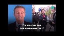 """""""Quotidien"""" refoulé à la conférence de presse de Nicolas Dupont-Aignan"""