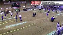 Première demi-finale, tir en relais féminin, Bourg-en-Bresse contre Saint-Vulbas, France Tirs, Martigues 2019