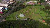 Brasil Visto de Cima - Curitiba e Florianópolis - Brazil from above