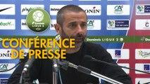 Conférence de presse Châteauroux - RC Lens (0-0) : Nicolas USAI (LBC) - Philippe  MONTANIER (RCL) - 2018/2019