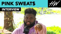 Pink Sweat$ Teases Collab With His Friends The Chainsmokers! | Hollywire