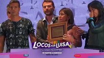 Pedro y Paula en el reconocimiento a Emilio en los premios Carlos