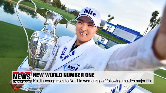 Ko Jin-young rises to No. 1 in women's golf following maiden major title