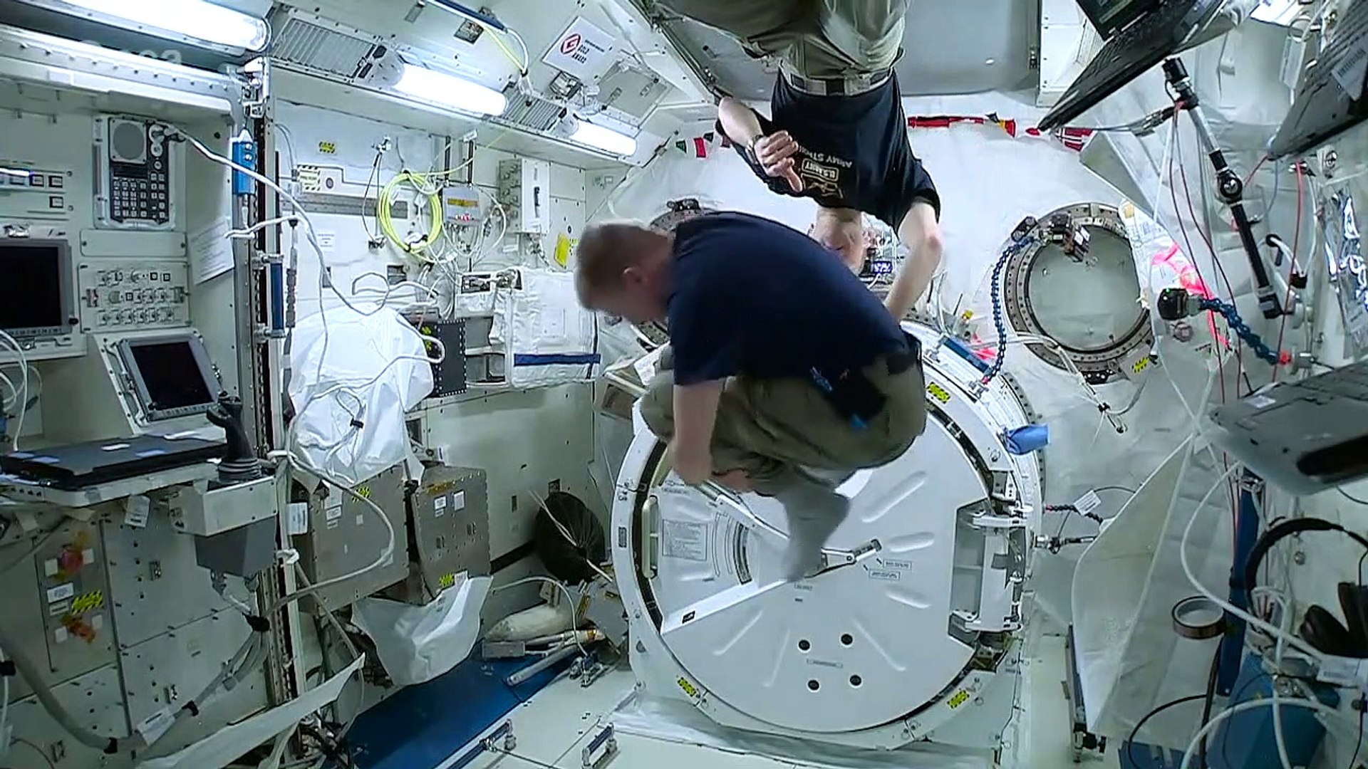 Scientists Find International Space Station Is Crawling With Bacteria