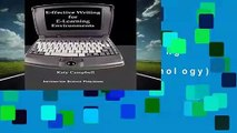 R.E.A.D e-ffective Writing for e-Learning Environments (Cases on Information Technology)