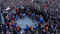 Ankara Mansur Yavaş Belediye Önünde Toplananlara Seslendi -1