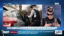 La chronique d'Anthony Morel : Un simulateur de fatigue au volant - 09/04