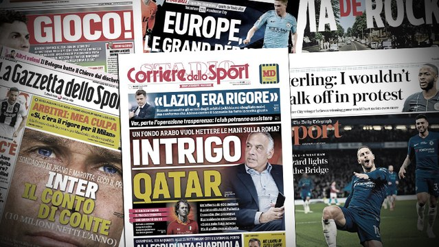 Les 3 pistes d'envergure de l'Inter pour remplacer Mauro Icardi, l'offre de 400M€ reçue par l'AS Roma pour racheter le club
