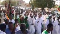 Gunshots, tear gas fired at Sudan protests