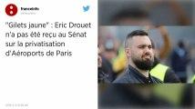 Le Sénat accepte de recevoir le Gilet jaune Éric Drouet puis fait marche arrière au dernier moment
