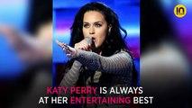 Katy Perry breaks into impromptu dance moves courtesy, her Sanskrit tattoo!