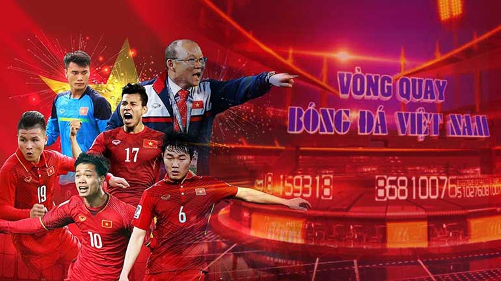 Vòng quay bóng đá Việt Nam-09/04/2019