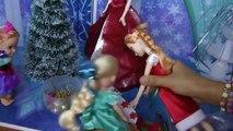 Arbre De Noël À Décorer! Elsa et Anna, les tout-petits de faire des Listes de souhaits pour le père noël, chanter des Chants de noël et amusez-vous