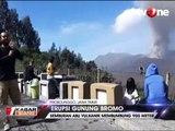 Semburan Abu Bromo 900 Meter Jadi Daya Tarik Wisatawan