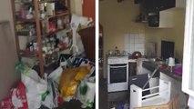 Un propriétaire découvre sa maison complètement ruinée par sa locataire