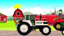 Farmer and his Tractors | agricultural machinery | Agriculteur et Tracteurs | Conte de machines agricoles