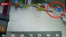 Soma'da tarım işçilerini taşıyan midibüs devrildi