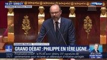 """""""Ce succès n'est pas celui du gouvernement mais des Français."""" Édouard Philippe rend compte du Grand débat devant l'Assemblée nationale"""