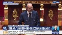 """Édouard Philippe devant l'Assemblée nationale: """"Nous devons construire une démocratie plus délibérative"""""""