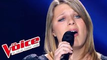 Serge Lama - Je suis malade | Julie Rosbuger | The Voice France 2012 | Blind Audition
