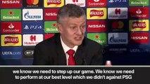 (Subtitled) 'PSG win gave Man Utd belief against Barcelona' Solskjaer