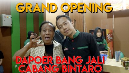 Aksi Agus Cita di Dapoer Bang Jali Bintaro