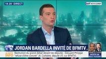 """Jordan Bardella sur Matteo Salvini: """"Je n'appelle pas ça l'Europe des populistes, j'appelle ça l'Europe du bon sens"""""""