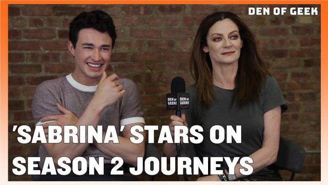 Chilling Adventures of Sabrina Stars Discuss Season 2