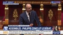 """Édouard Philippe: """"Les Français nous disent non pas que l'impôt est illégitime, mais ils ne veulent pas que les impôts augmentent"""""""